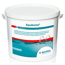 Aquabrome Bayrol le meilleure désinfectant piscine