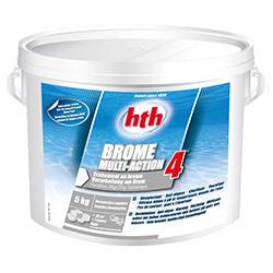 Brome 4 action hth produit nétoyage piscine