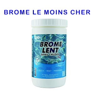 Achat Brome spa pas cher
