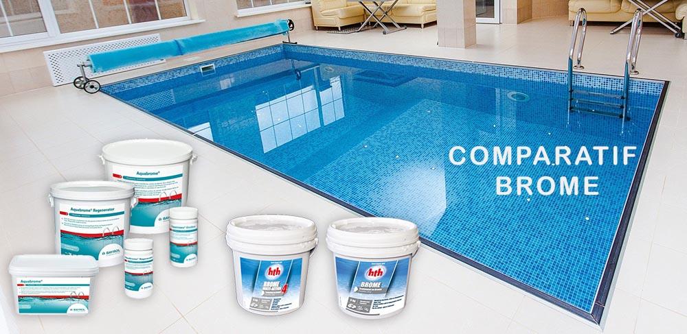 Comparatif d'achat de brome piscine Choc - Lent